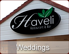 Weddings at Haveli Restaurant & Bar